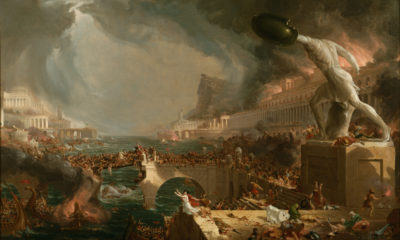 Thomas Cole, The Course of Empire, Destruction, 1846, The Metropolitan Museum of Art, New York City, United States