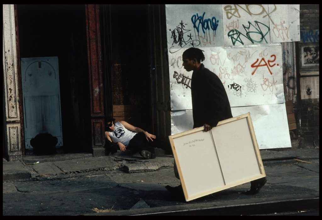 """Still from the movie """"Downtown 81"""" directed by Edo Bertoglio, number four on the art-related films list"""