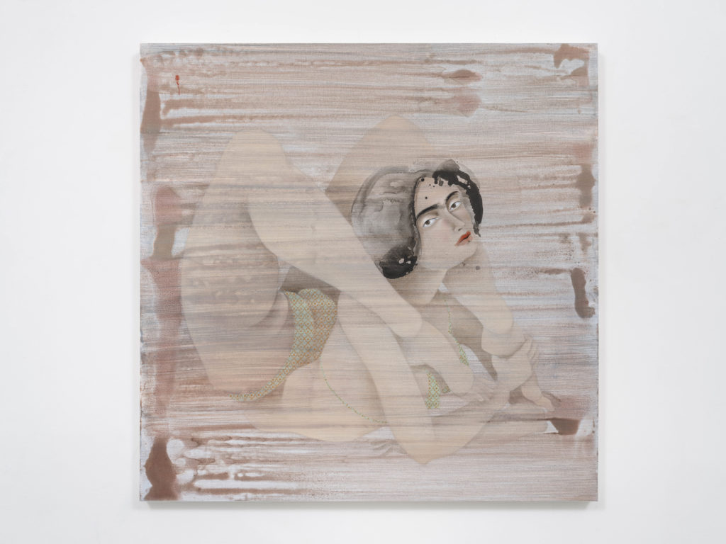 Hayv Kahraman, Back Bend 3; Online Exhibitions by Female Artists