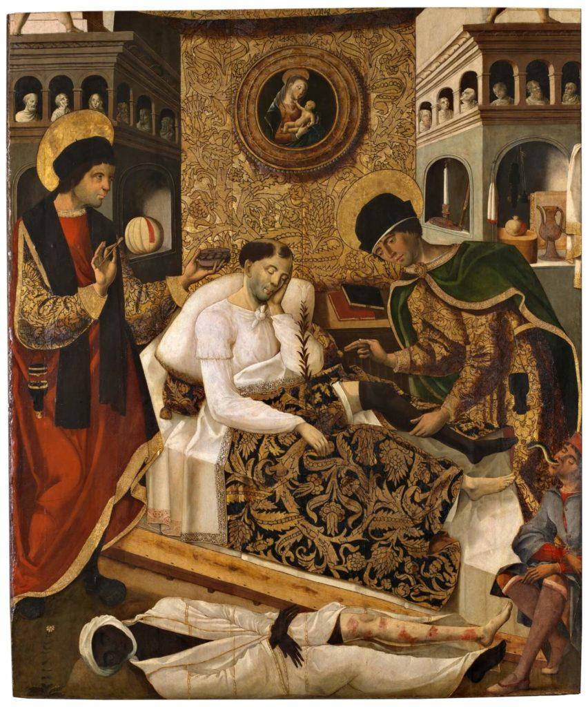 Fernando del Rincón, Miracles of the Doctor Saints Cosmas and Damian, circa 1510.