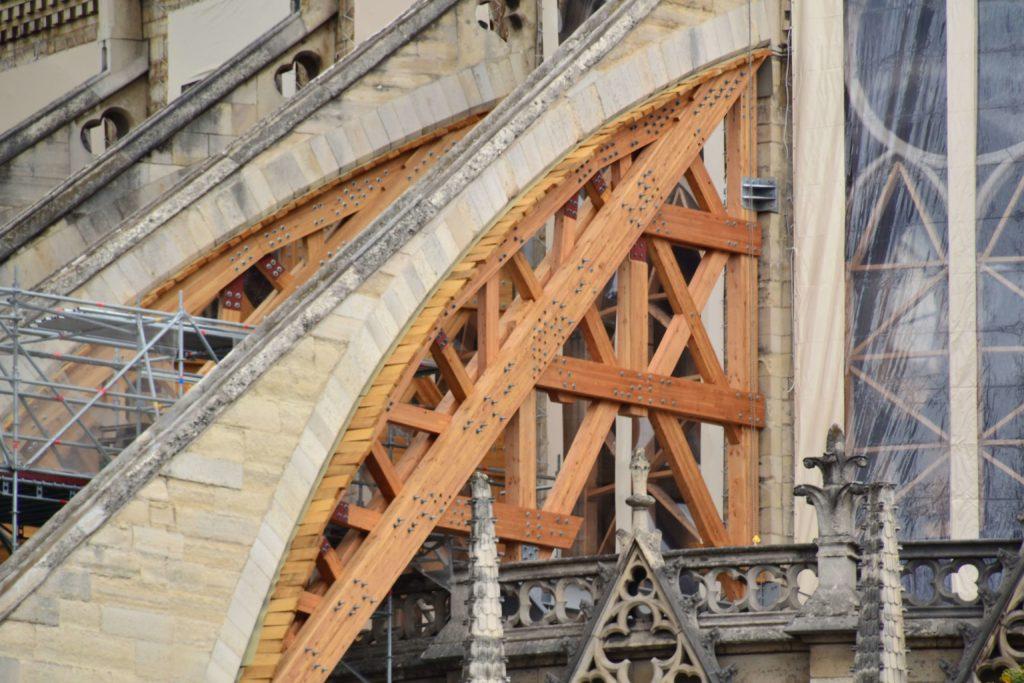 Notre-Dame de Paris restoration buttresses