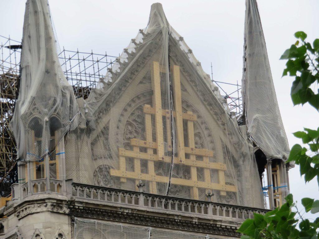 Notre-Dame de Paris restoration south transept