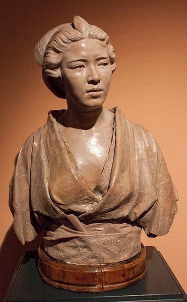 Vincenzo Ragusa, Bust of Otama Ragusa, 1883.