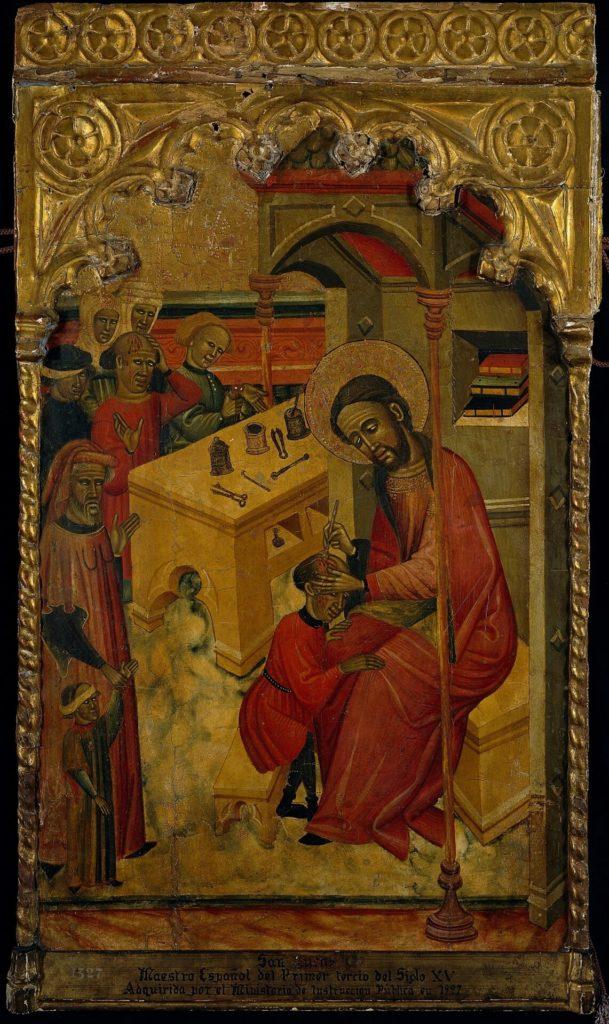 Juan de Sevilla, Saint Luke, 1401 - 1435; Doctors in Paintings