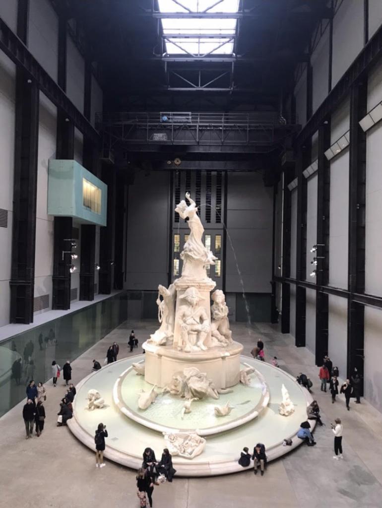 Benefits of Visiting a Museum: Kara Walker's Fons Americanus at the Tate Modern, London, UK.