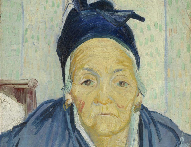 Vincent van Gogh, An Old Woman of Arles, 1888, Van Gogh Museum, Amsterdam, detail