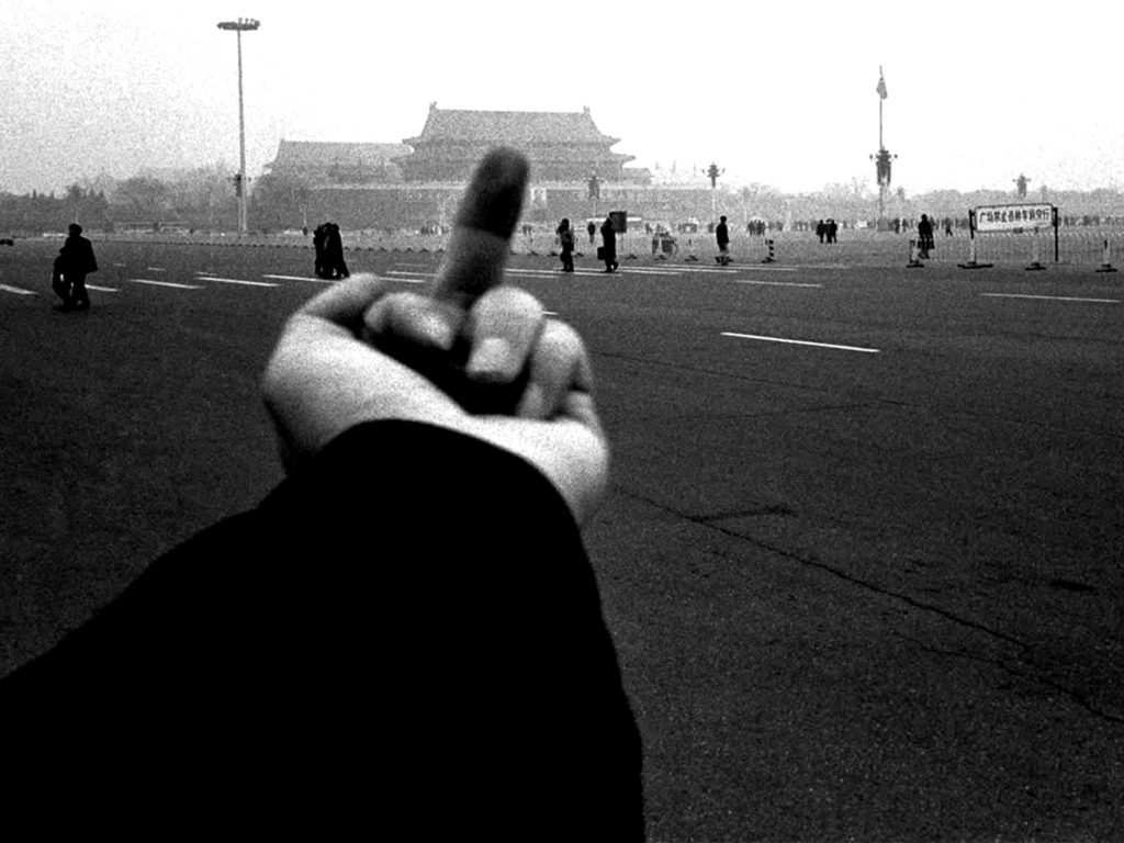 """Still from """"Ai WeiWei: Never Sorry"""" directed by Alison Klayman, number five on the art-related films list"""