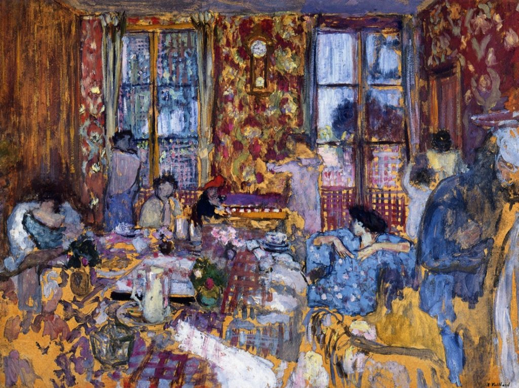 Édouard Vuillard, Breakfast at Villerville, 1910