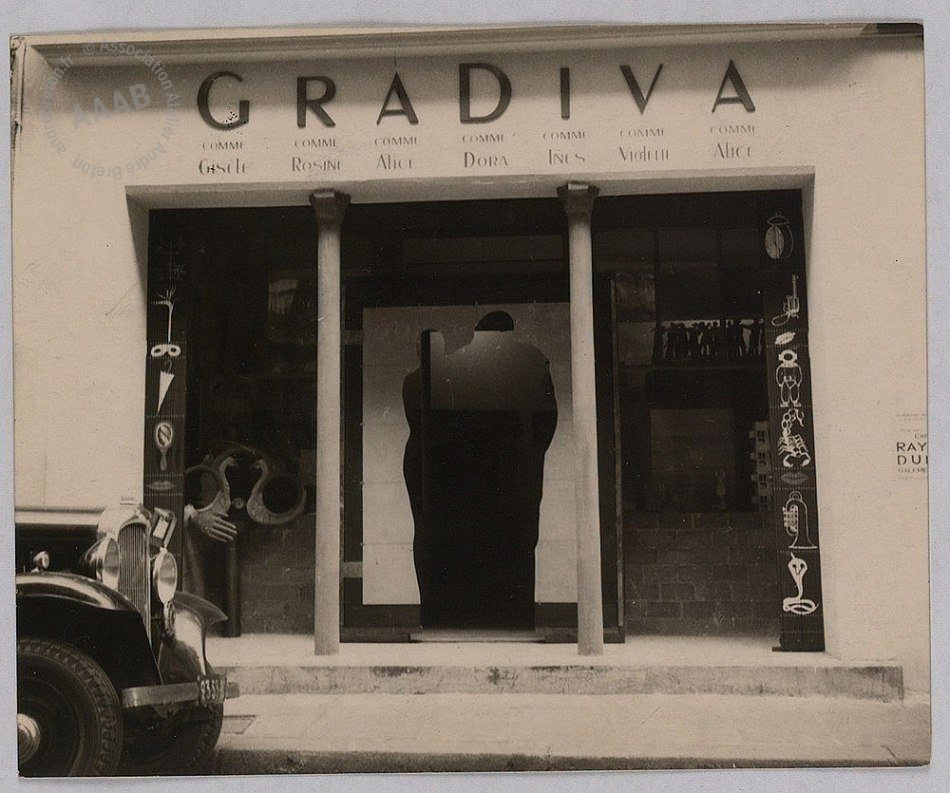 Gradiva Gallery, 1937, photograph, annotated '1938' by André Breton, Association Atelier André Breton
