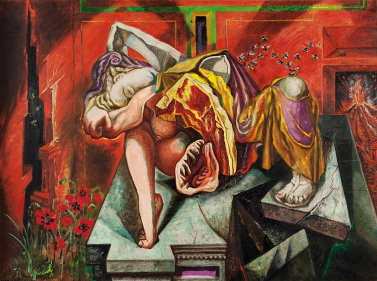 André Masson, Gradiva, 1939. Source: Wikiart.