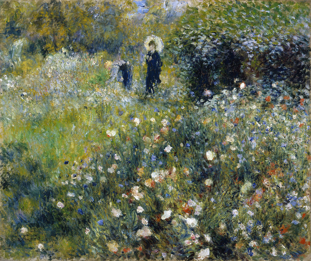 In the 19th century, Renoir painted several of the most beautiful gardens in art.