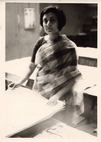 Zarina Hashmi in Atelier 17