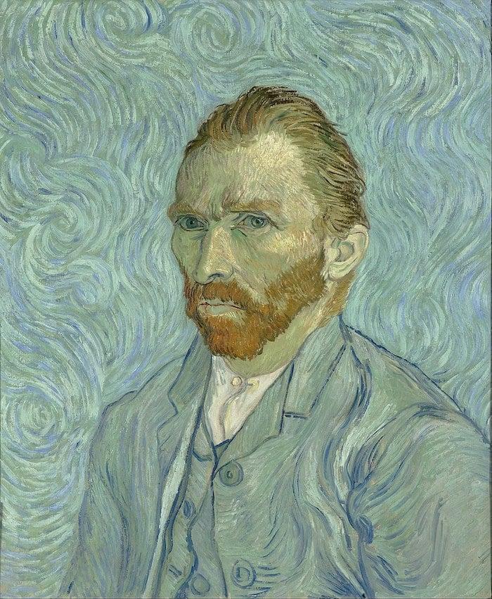 Vincent van Gogh, Self-portrait, September 1889, Musée d'Orsay, Paris