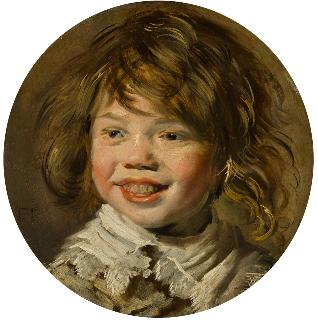 Frans Hals, Laughing Boy, 1625, oil on panel, 30.45 cm, Mauritshuis, The Hague, Netherlands. tronie