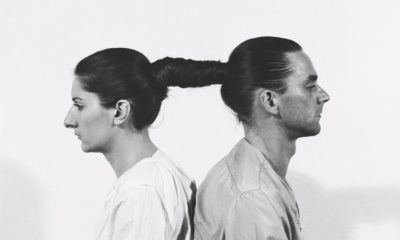 Marina Abramović and Ulay, Relation in time, photographed in 1977.