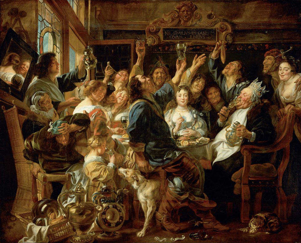 Jacob Joardens, The Feast of the Bean King,