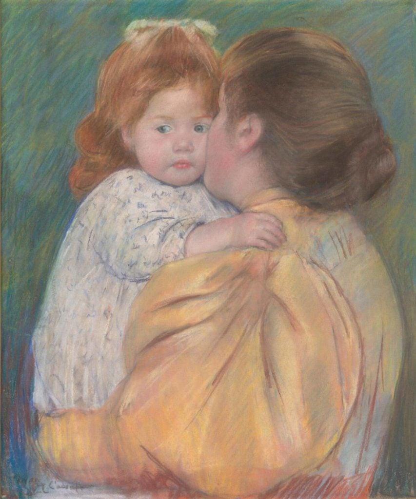 Maternal Kiss Mary Cassat