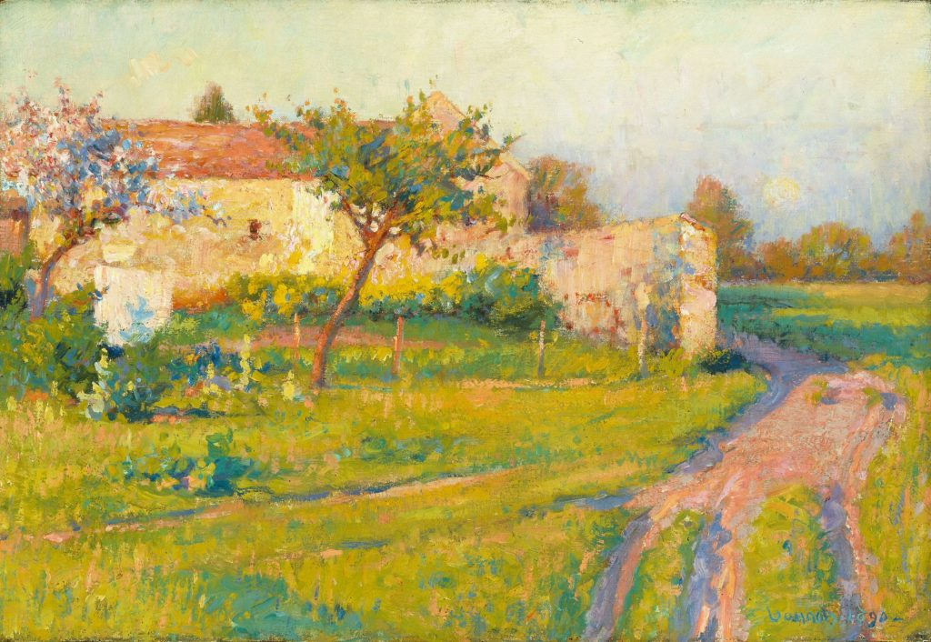 world Spring paintings
