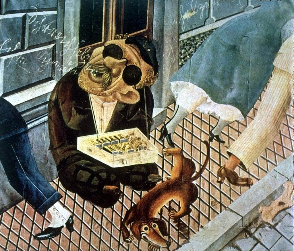 Otto Dix, The Match Seller, ca. 1921