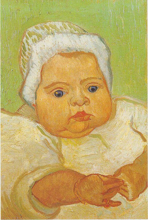 Portrait of Marcelle Roulin, Vincent van Gogh