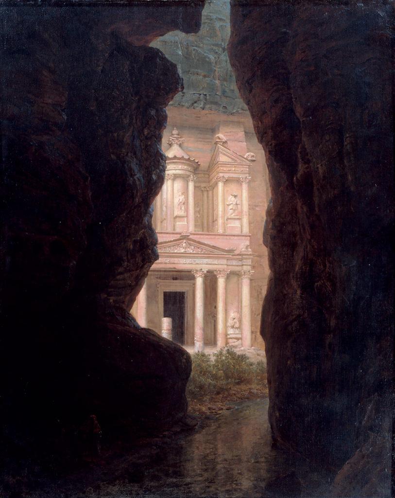 El_Khasne_Petra by Frederic Edwin Church