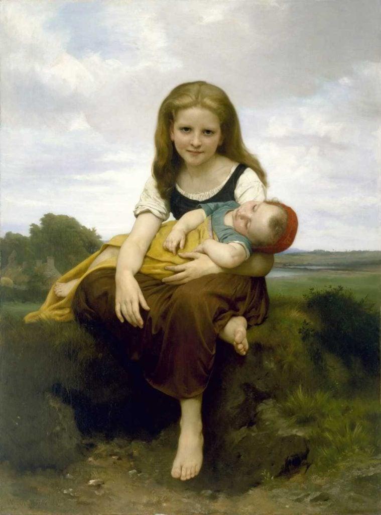 Bouguereau, Elder Sister