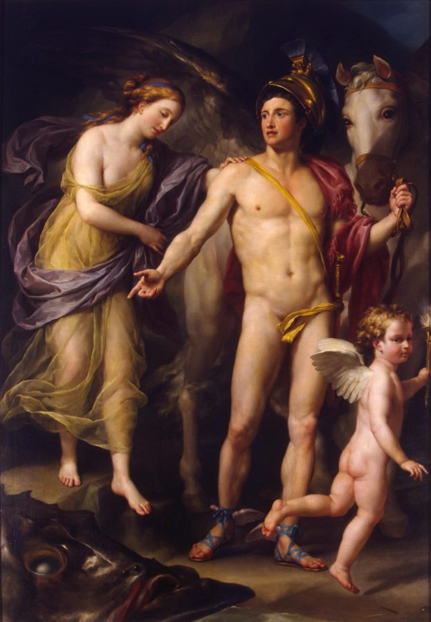 Archetypes in Star Wars Art: Anton Raphael Mengs, Perseus and Andromeda, 1778, The State Hermitage Museum, St. Petersburg, Russia.