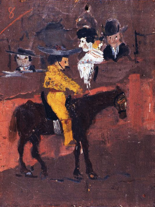 Picasso, Picador, childhood artwork