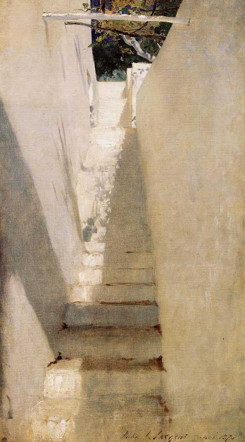 John Singer Sargent painted a number of areas across the island of Capri.