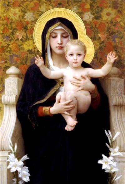 religious babies in art