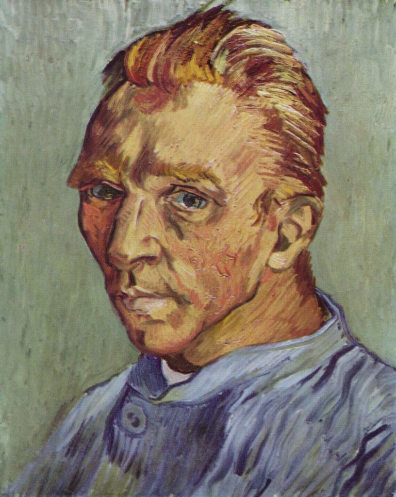 Vincent van Gogh, without Beard, September 1889, private collection