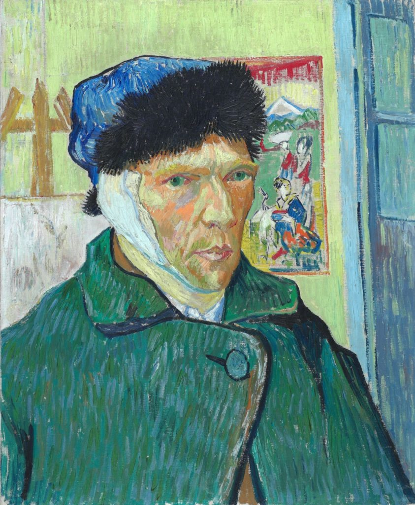 Vincent van Gogh, with Bandaged Ear, January 1889, © The Courtauld Gallery, London