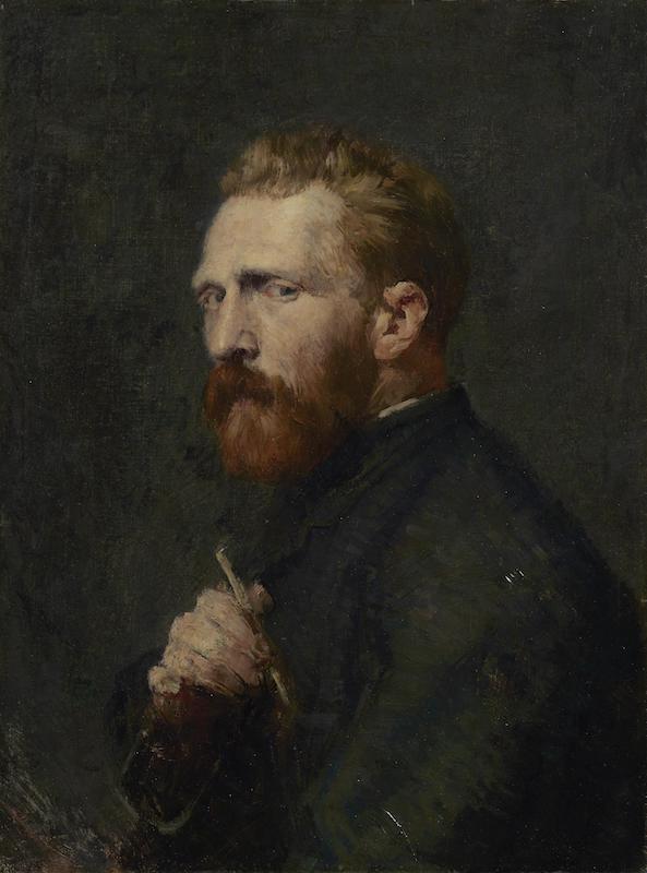 John Peter Russel, Vincent Van Gogh, 1886, credits: Van Gogh Museum, Amsterdam (Vincent van Gogh Foundation)