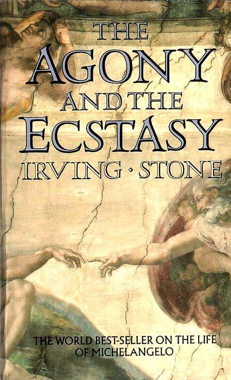 Art book: the agony and the ecstasy irving stone