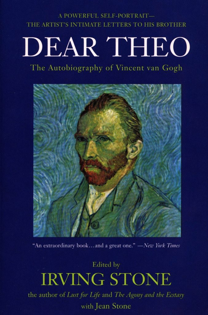 Art book: dear theo, irving stone, vincent van gogh, letters
