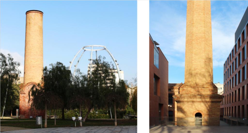 El Poble Nou Factories in Barcelona