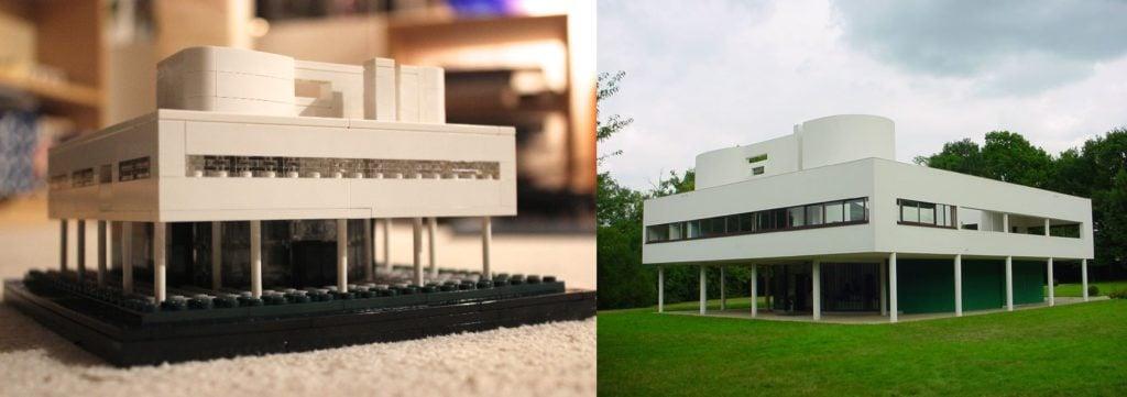 Lego architecture: Le Corbusier, Villa Savoye