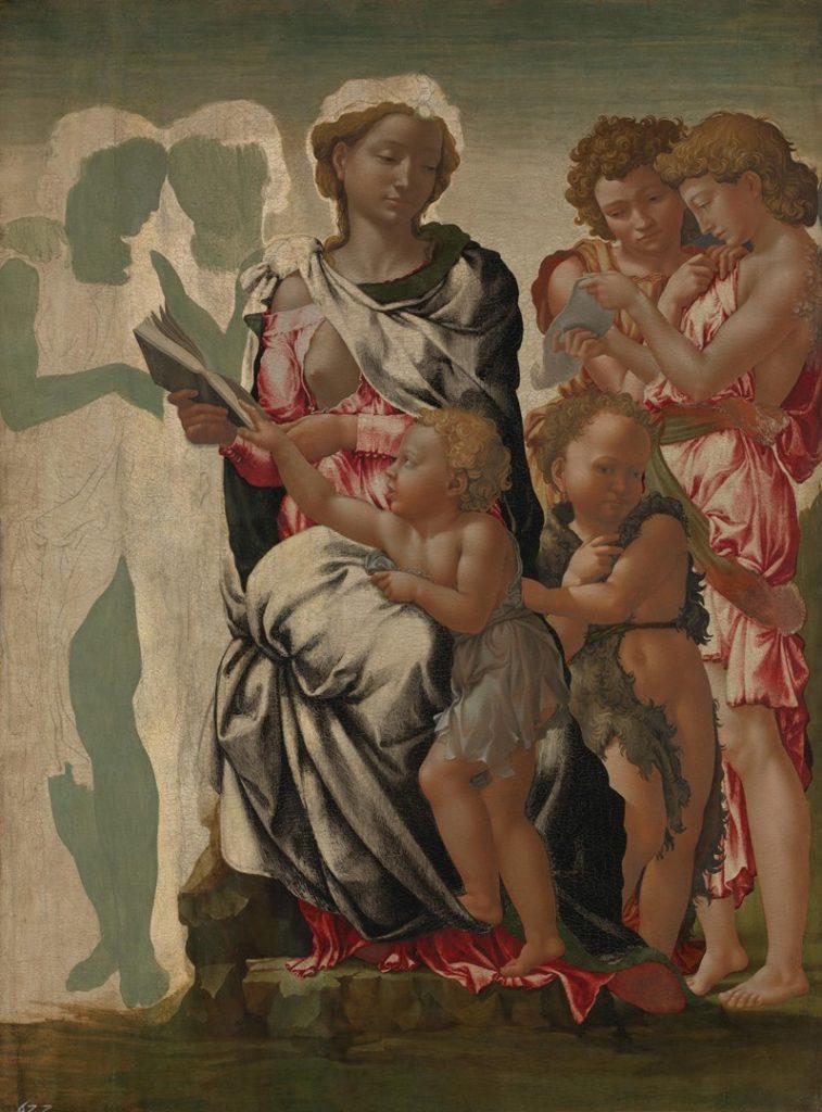 Michelangelo, The Manchester Madonna
