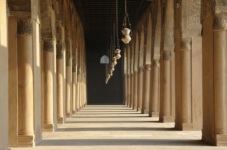 The most beautiful mosques to visit: Mosque of Ibn Tulun, Cairo, Egypt,