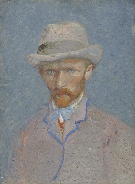 Vincent van Gogh, Self-Portrait, Paris, Summer 1887, credits: Van Gogh Museum, Amsterdam (Vincent van Gogh Foundation)