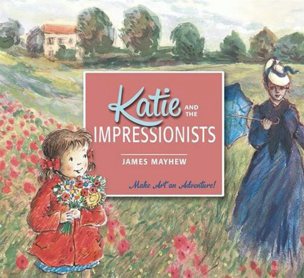 Cover of the book Katie and the Impressionists.