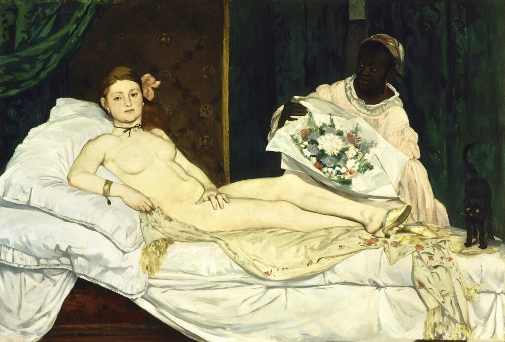 Five artist models you should know about: Eduard Manet, Olympia