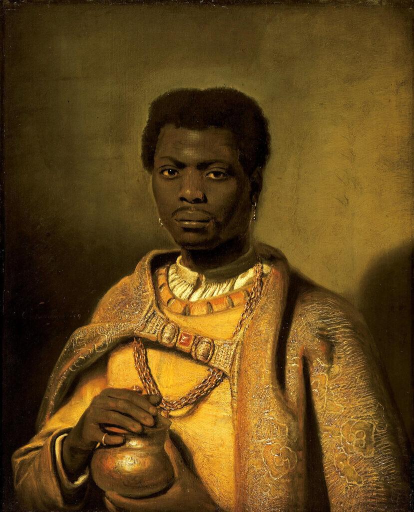 Hendrik Heerschop, The African King Caspar, 1654, Gemäldegalerie, Berlin.