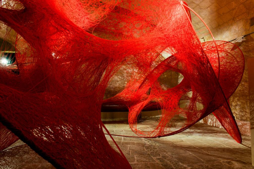 Chiharu Shiota, Circulation, 2018