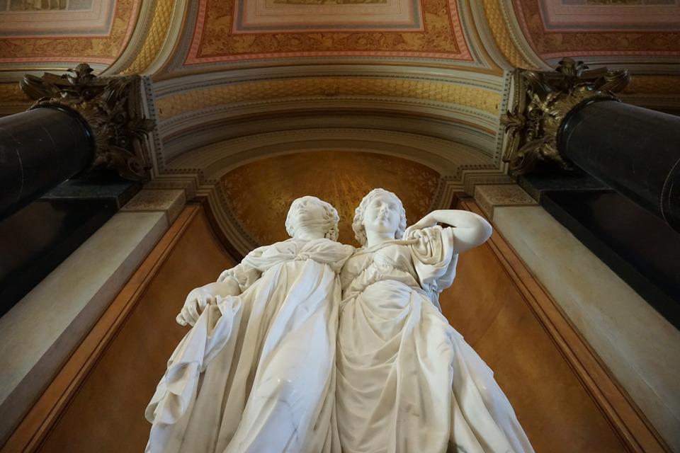 Johann Gottfried Schadow, Prinzessinnengruppe (The Princess group), marble