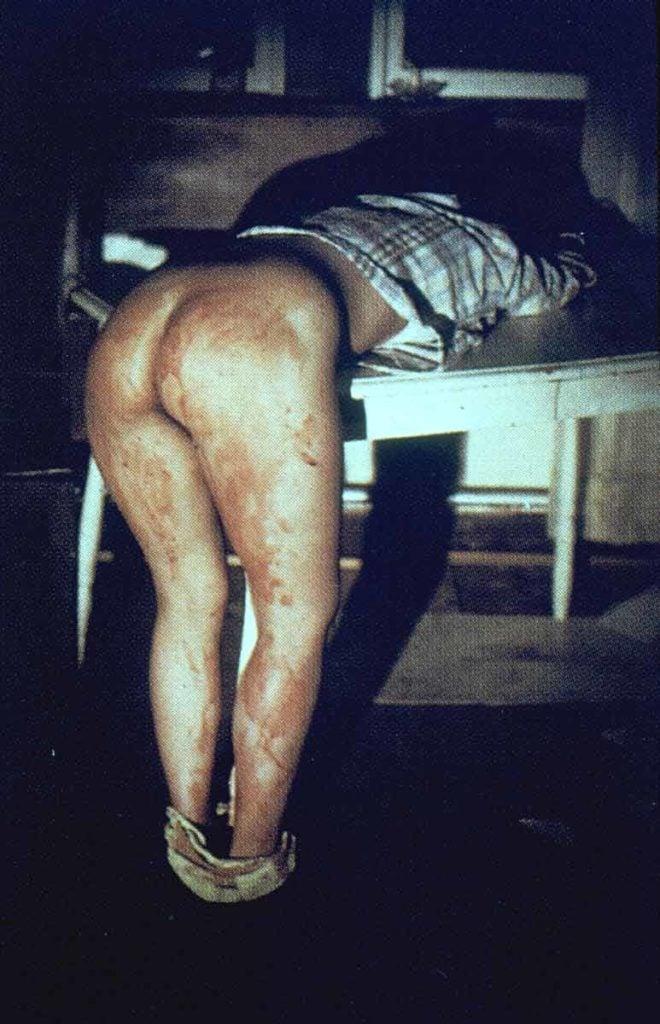 Ana Mendieta, Rape Scene,1972