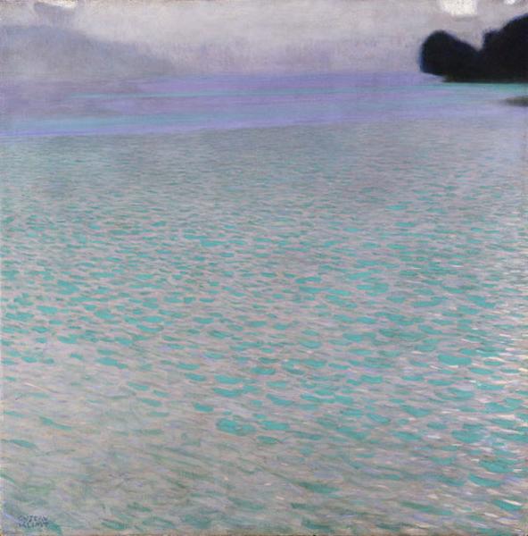 Klimt Lake Attersee