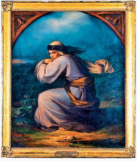 Greek Female Artists You Should Know: Eleni Boukoura - Altamura, Despair, location and date unknown, image source: Wikimedia Commons.