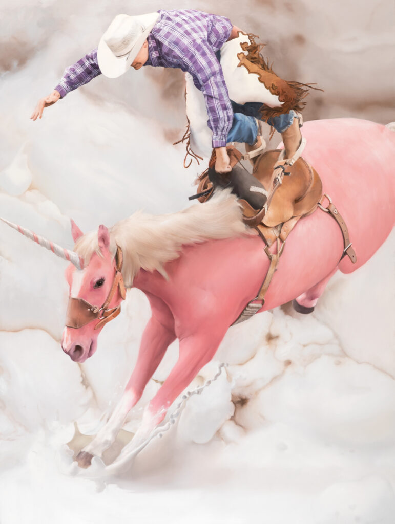 Will Cotton, Flying Cowboy