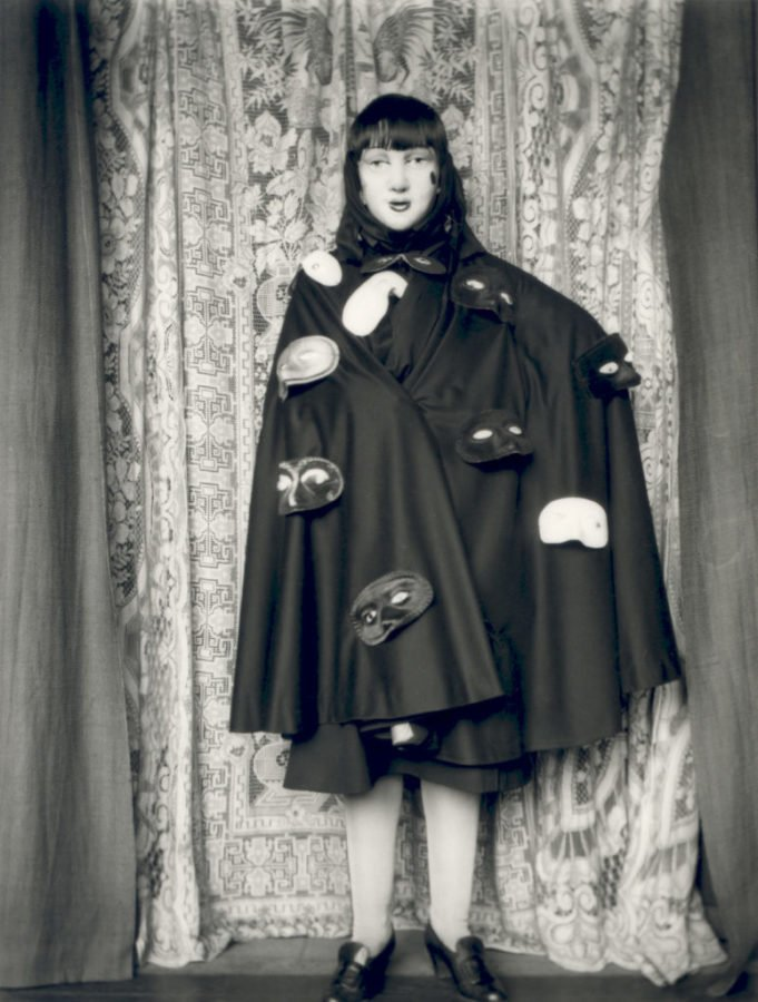 Claude Cahun, Untitled Self Portrait with Masks